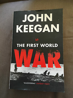 "1999 ""the First World War"" Ww1 Thick Paperback Book"