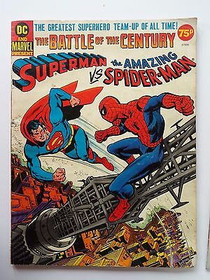 Superman v Spiderman, battle of the century Marvel / DC collaberation