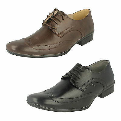 WHOLESALE Mens Formal Shoes / Sizes 7x11 / 12 Pairs / A2076