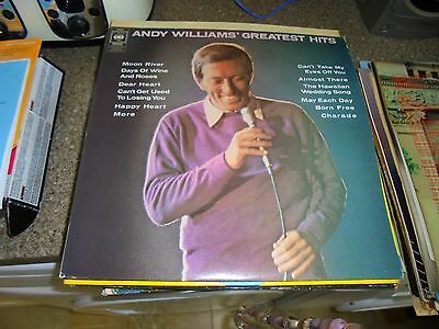 LP/ ANDY WILLIAMS /GREATEST HITS (1970s UK CBS