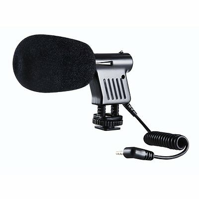 BY-VM01 Directional Video Condenser Microphone for Camera DSLR Camcorder C4B6