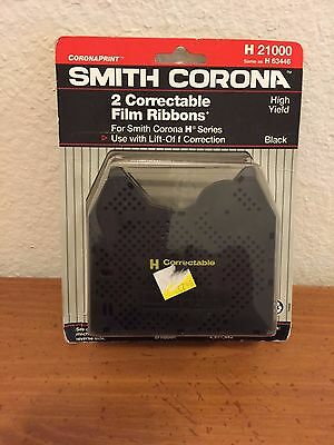 Smith Corona 2 correctable film ribbons - 1 New Pack Same As H63446