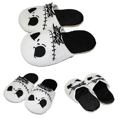 Adults Plush Slippers The Nightmare Before Christmas Jack Skellington Soft Warm