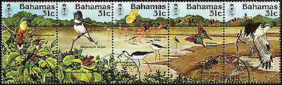 Bahamas 1984 SG 685a (685-9 in Strip) 25th Anniversary of National Trust. FUsed