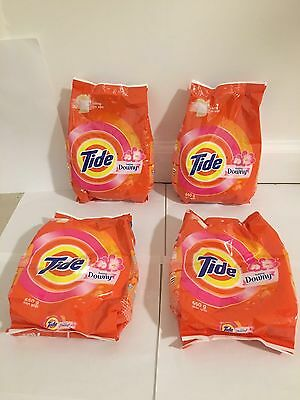 4 Packs!!!! - Tide with Downy Laundry Powder Detergent. 650 GM.