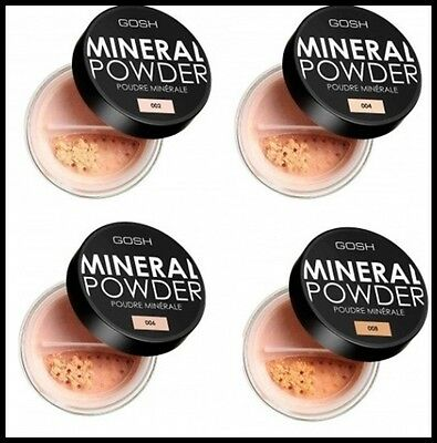 NEW GOSH Mineral Foundation Powder for Matt Flowers Look / Different Shades