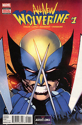 US COMIC PACK ALL-NEW WOLVERINE 1-6 Marvel englisch