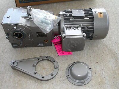 Nord Drive Systems Bevel Gear Drive 1 1/2 Hp Model SK9016.1AZBDH-90S/4CUS New