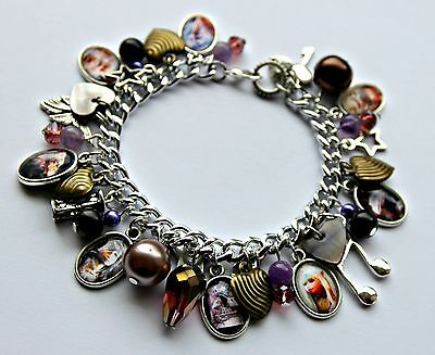 THE DARK CRYSTAL Movie Themed Loaded Charm Bracelet