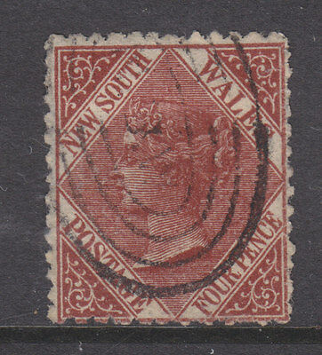 New South Wales 1867 Sg 203 used