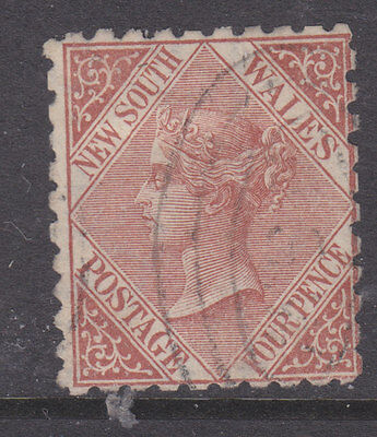 New South Wales 1882 Sg 230 perf 10 used