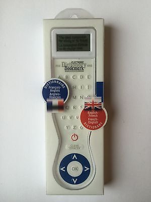 French Electronic Dictionary Bookmark -  French-English