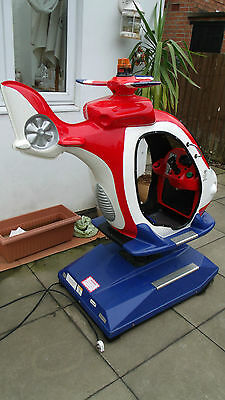coin operated helicopter ride