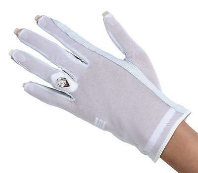 SOLAR GLOVE Ladies Nail and Ring Glove NO MORE TAN LINES right hand M