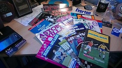 Joblot 19 Old Football Programmes