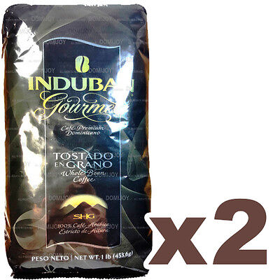 Induban Gourmet Roasted Bean Coffee 2 Pounds - Real Dominican Coffee