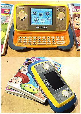VTech MobiGo2 - Touch Learning System - Blue Orange Plus 2 Games