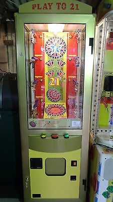 coin operated arcade keyring machine