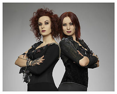 "-HELLEVATOR-tv show-""Twisted Twins"" (SOSKA SISTERS)--Glossy 8x10 Photo"