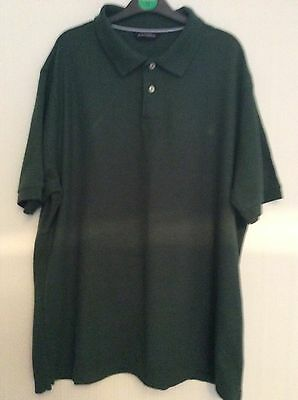 Marks And Spencer Polo Shirt Size Xl Green