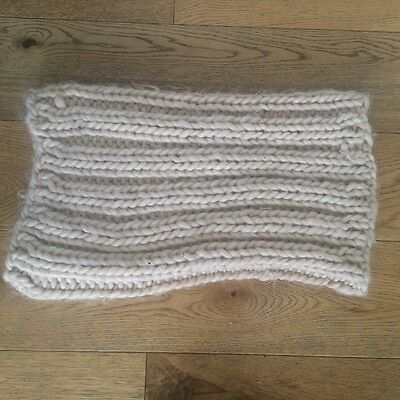 Knitted Snood Cream