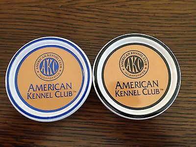 American Kennel Club Advertising Coasters. Porcelain Or Ceramic.