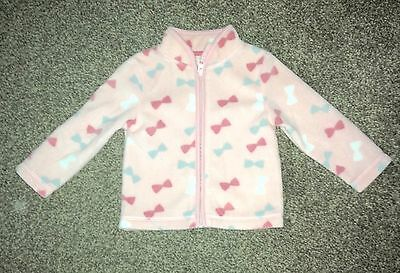 Baby Girls Fleece From Mothercare - Age 6-9 Months