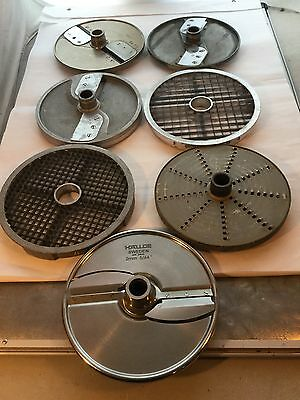 7 x Vegetable Prep Discs including Slicing, Grating and Cutting