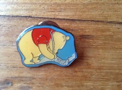 Disney's Winnie The Pooh Writing Pin  Badge