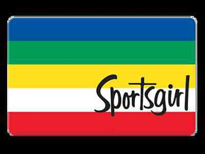 sports girl gift card $ 30 value
