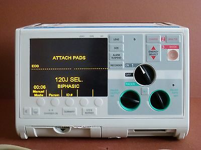 Zoll M Series Defib Heartstart Pacer 3 Lead ECG and Therapy Cable Biphasic 200J