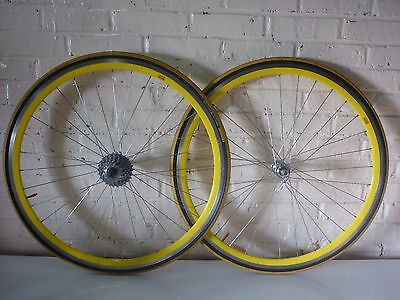 ROUES RIGIDA DP18 SHIMANO 8 spd CLINCHER WHEELSET