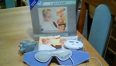 """Rio Lightmask & instructions """"Natural solution to PMS, migraine & insomnia""""Boxed"""