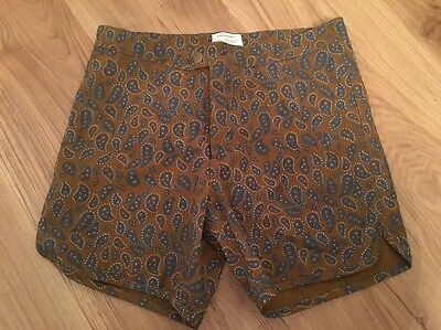 Men's RVCA Alex Knost Board Shorts Swimming Trunks BNWOT Size 30 Paisley Baggies
