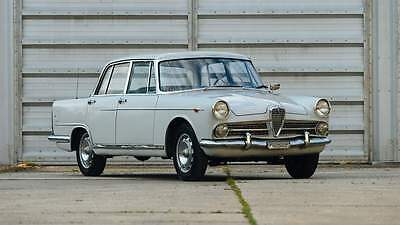 1960 Alfa Romeo Other 2000 Berlina Very rare and super cool 1960 Alfa Romeo 2000 Berlina Superlux Italian