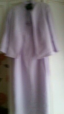 Lilac Suit size 16 Frank Usher Mother of the bride