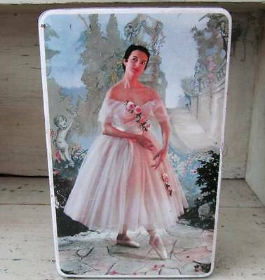 Pretty Ballerina Edward Sharpe's Toffee Tin - 1960's