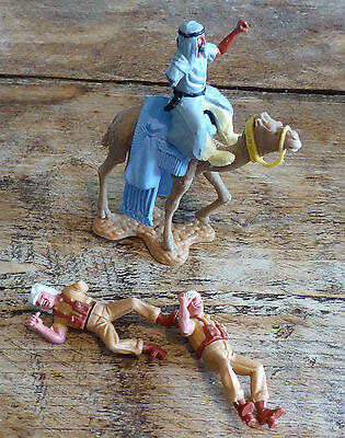 Timpo Swoppets Job lot of Foreign Legion & Arab on camel - Toy Soldiers
