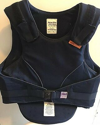 Reiver Elite Back Protector ADULT X small           Level 3