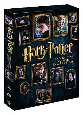 Harry Potter - La Collezzione Completa - 8 DVD - 2016