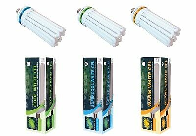 125w 150w 250w CFL Super Cool or Warm Light Bulb Hydroponic Grow EnviroGro Lumii
