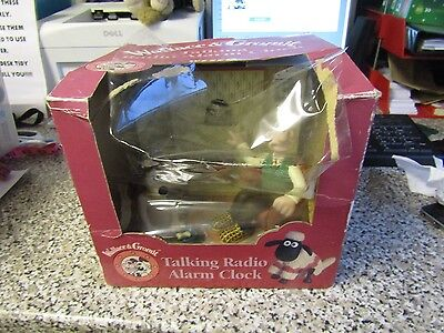 Wallace And Gromit Radio Alarm Clock