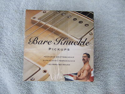 BARE KNUCKLE PG BLUES Humbucker pickups  Brand new boxed AGED NICKEL