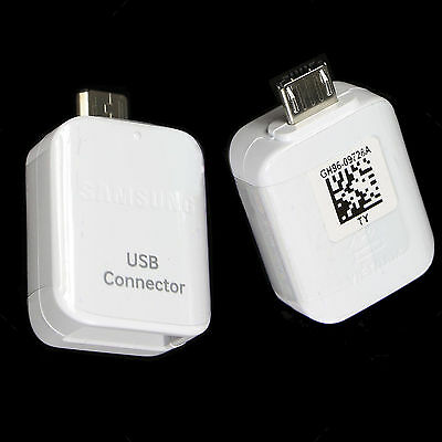 Genuine Original USB Connector OTG Adapter for Samsung Galaxy S7 S6 Edge Note 5