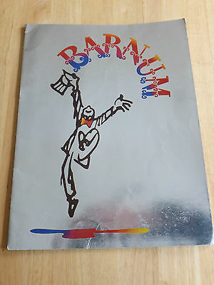 Barnum Starring Michael Crawford Program Palladium Theatre London 1981