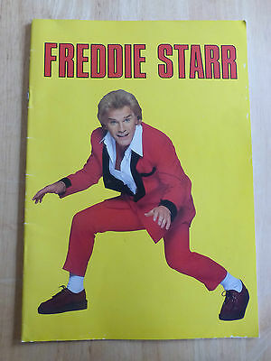 Freddie Starr Theatre Programme From 1985 In Very Good Condition