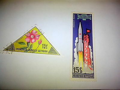 Timbres Mongolie