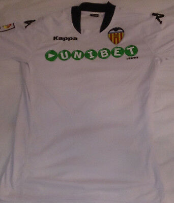 Valencia Kappa Football Shirt Spain Rare Soccer