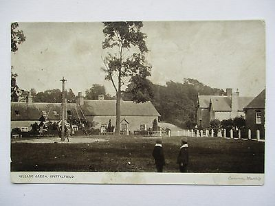 Maypole On The Village Green , Spittalfield , Perths - Murthly Postmark