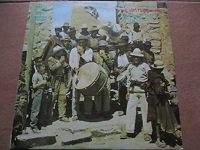 The Tony Hatch Orchestra - A Latin Happening- Lp/record - Golden Hour - Gh 509